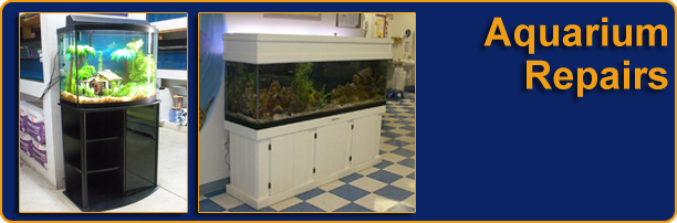 Commercial fish tank repairs in richmond aquarium cracked for How to fix a leaking fish tank